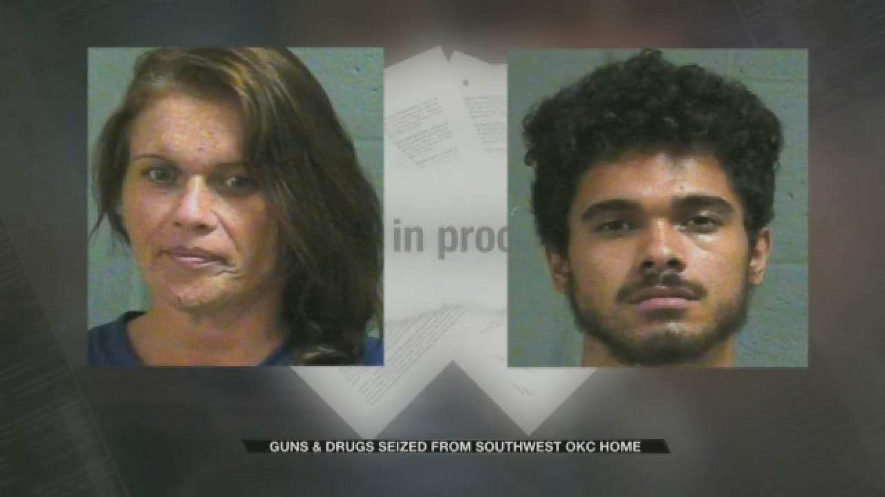 Tip Leads To Major Gun And Drug Bust In SW OKC