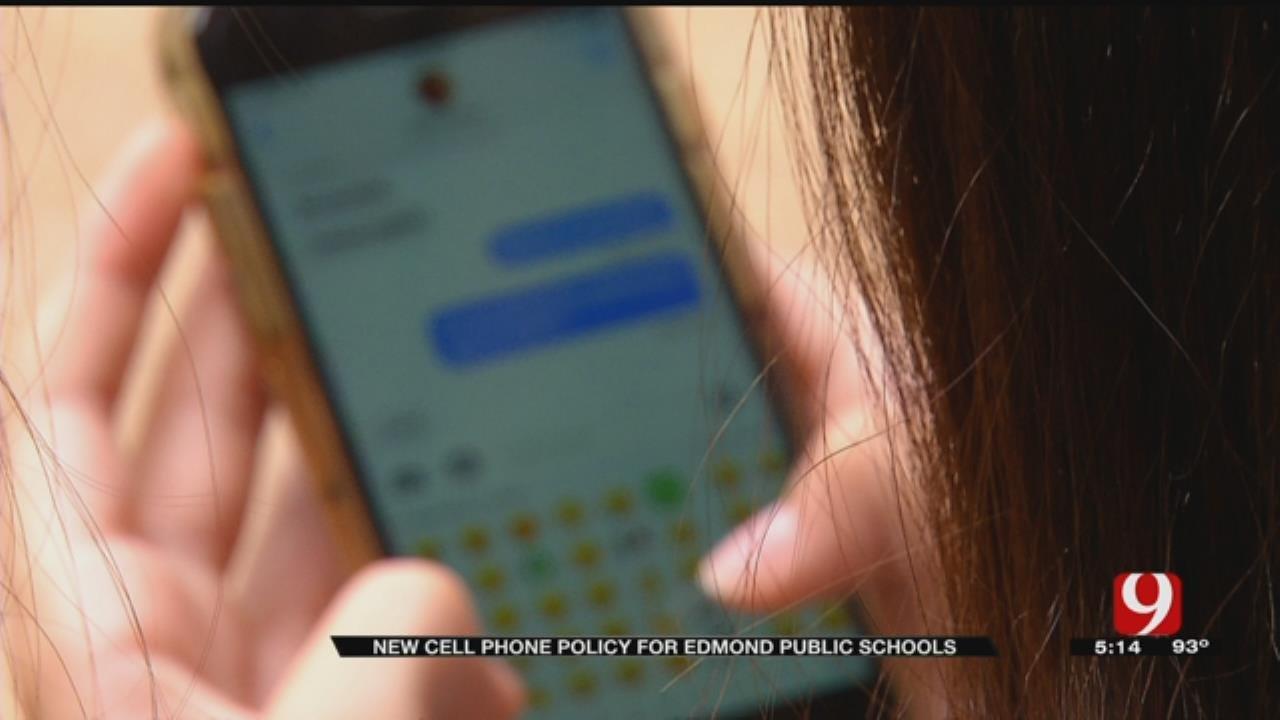 Edmond Public Schools Changes Cellphone Policy