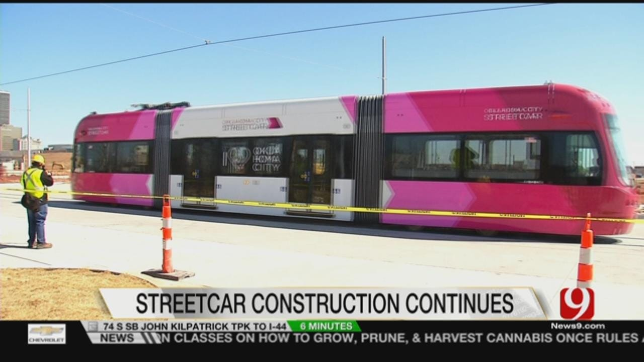 Streetcar Progress Leads To Road Closures In Downtown OKC