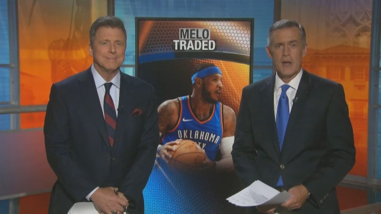 Carmelo Anthony Traded From The Thunder