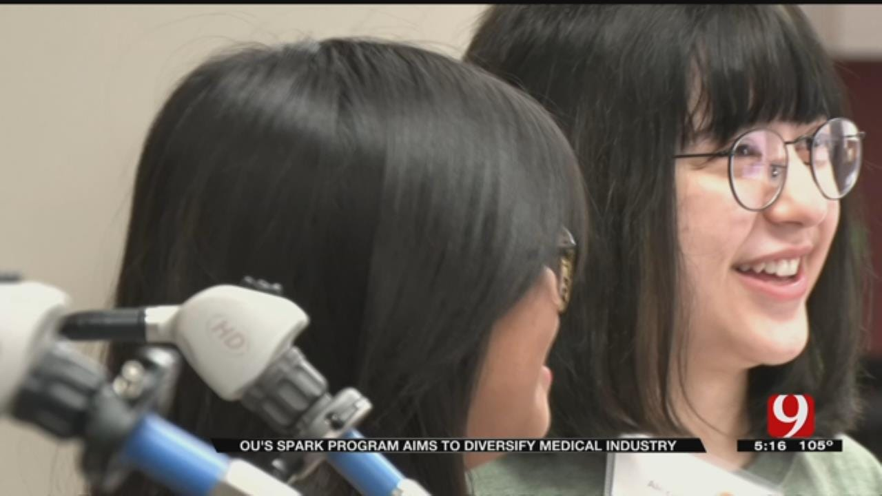 OU Working With High Schools To Diversify Medical Industry
