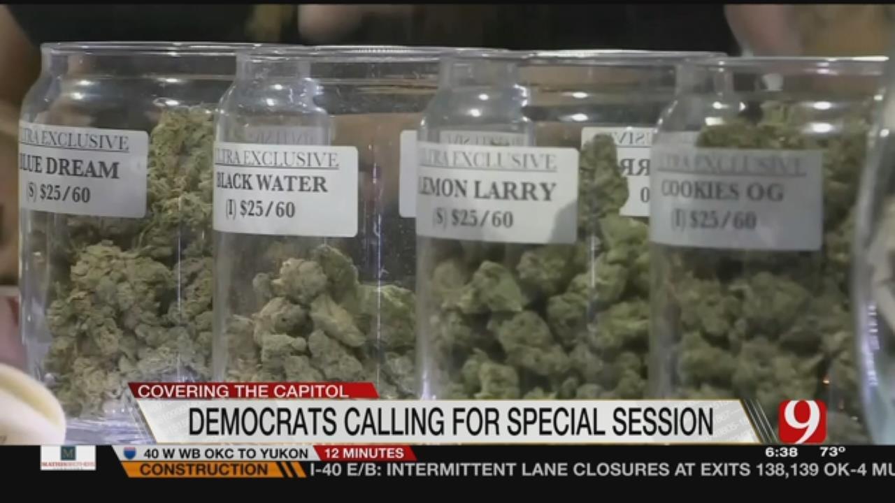 Senate Dems Call For Special Session To Address Medical Marijuana