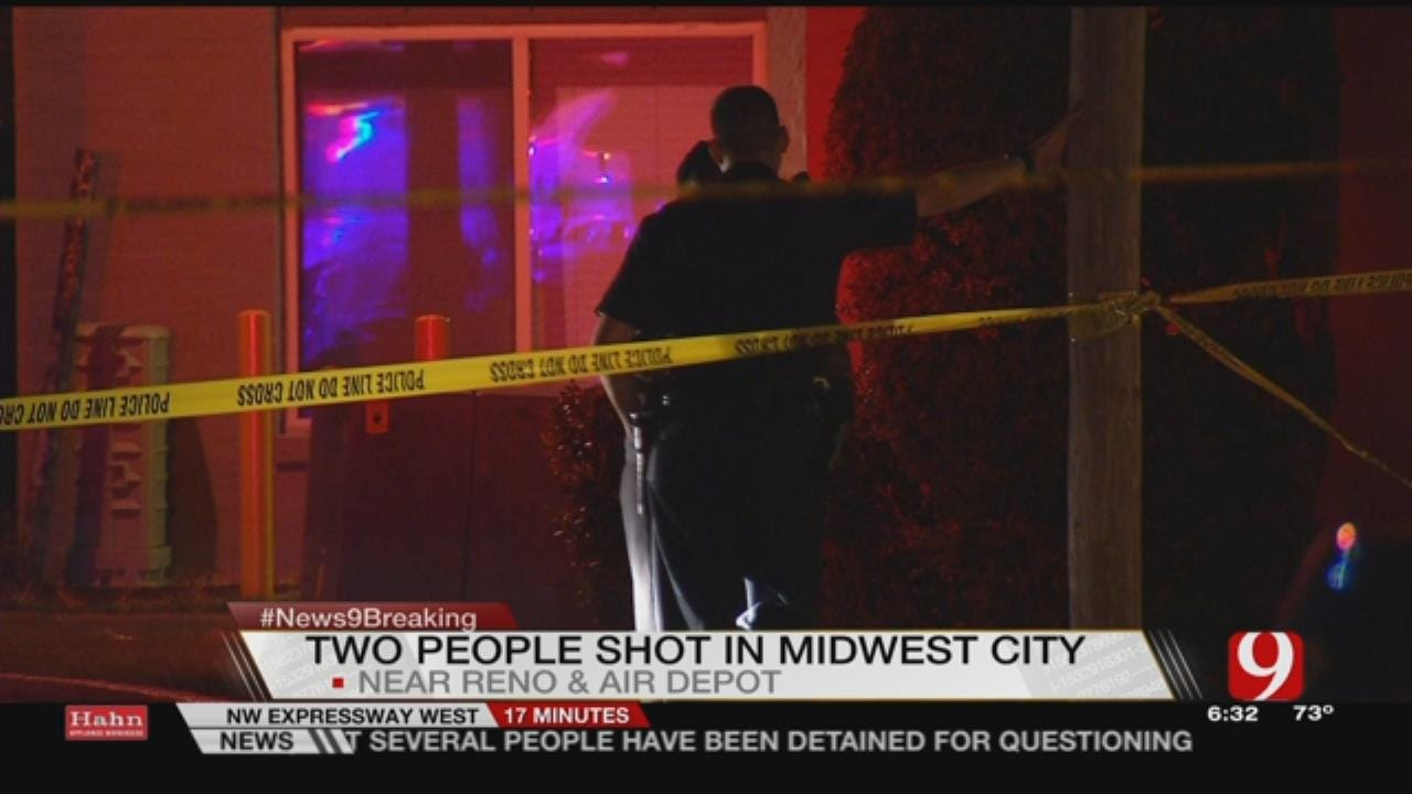 Two Injured In Shooting At MWC Apartment Complex