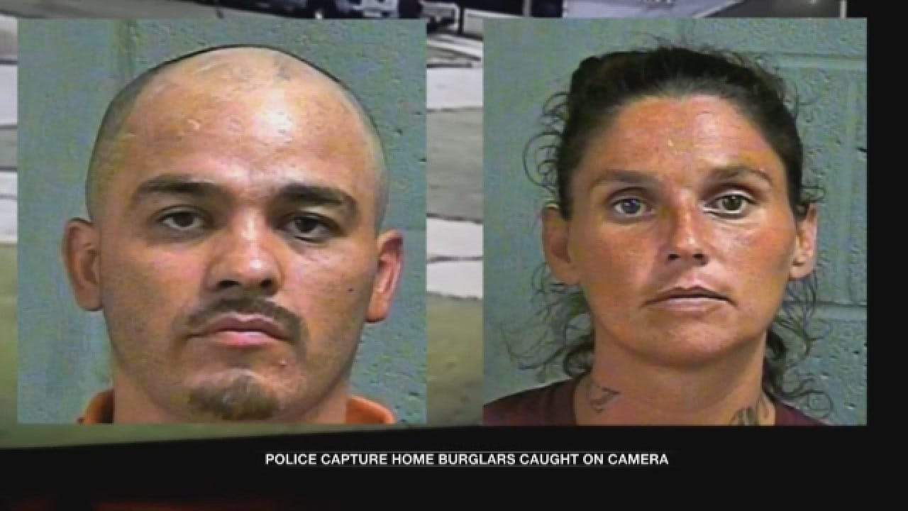 Pregnant Woman, Man Arrested For Home Burglary In SW OKC