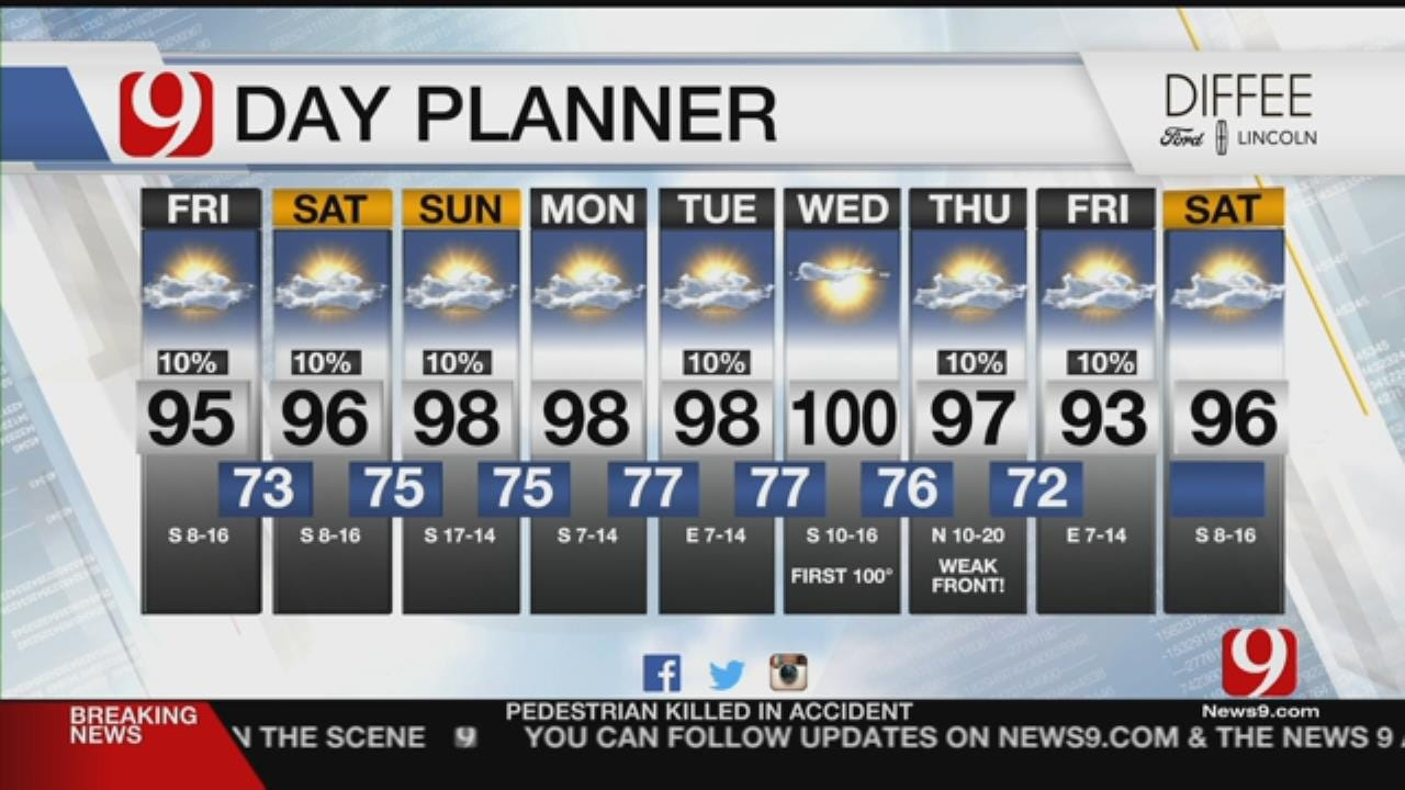 Friday Out The Door Forecast For July 13, 2018