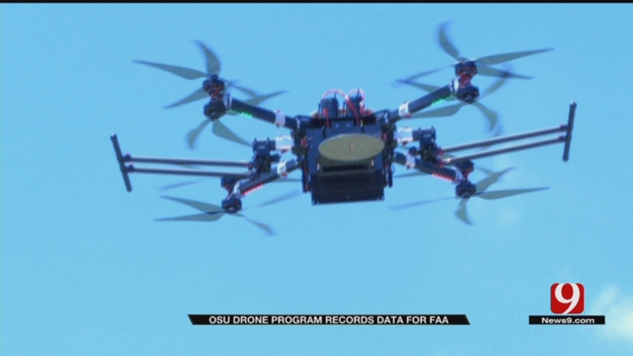 OSU Drone Program Records Data For FAA