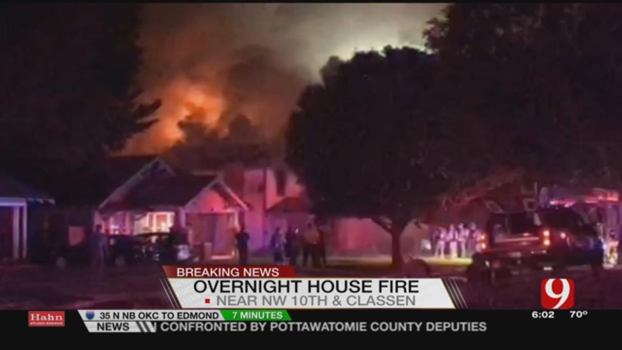 NW OKC House To Be Torn Down After Fire