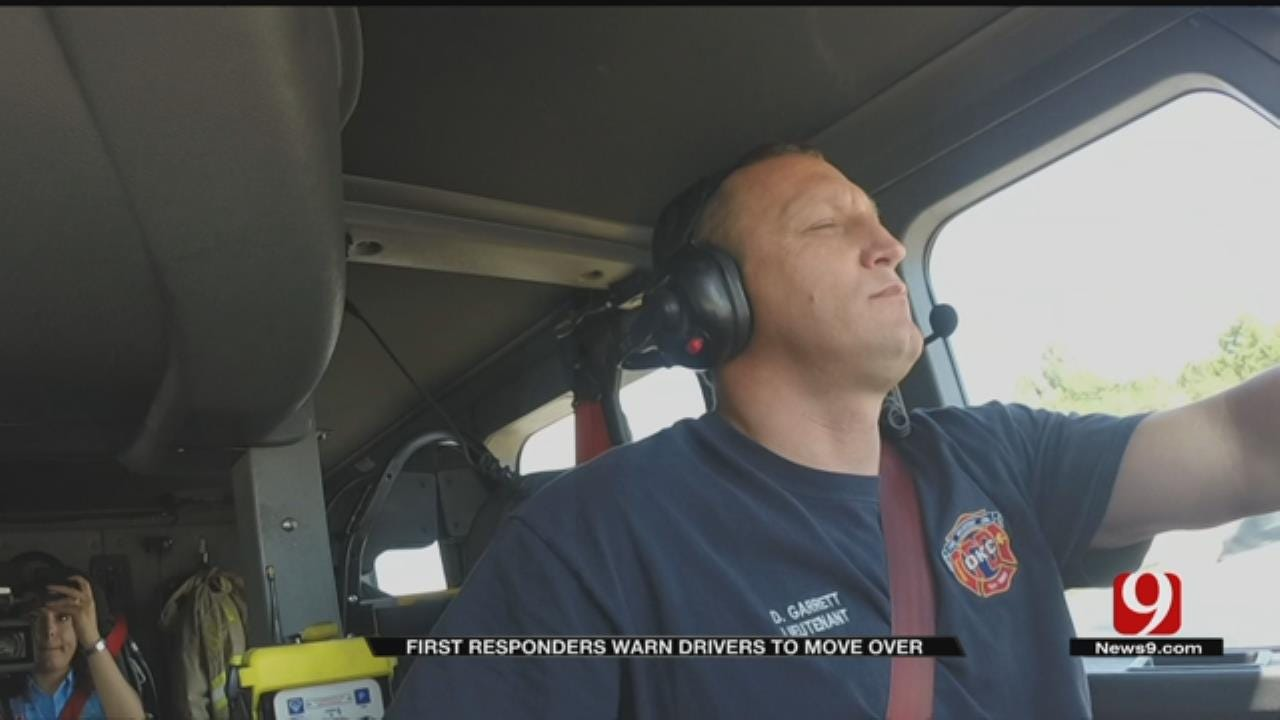 OKC Firefighters Frustrated By Oblivious Drivers