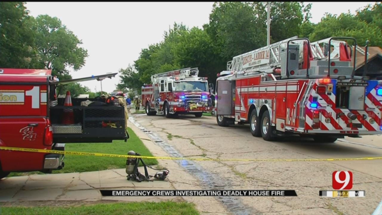 OKCFD: 1 Fatality In NW OKC House Fire