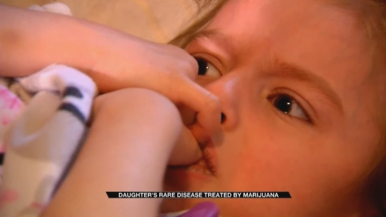Family Anxiously Awaits Medical Marijuana For Daughter's Rare Disease