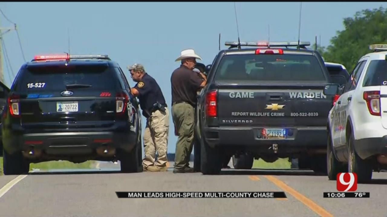 Multi-County Chase Ends With Deputies Shooting Suspect Tires