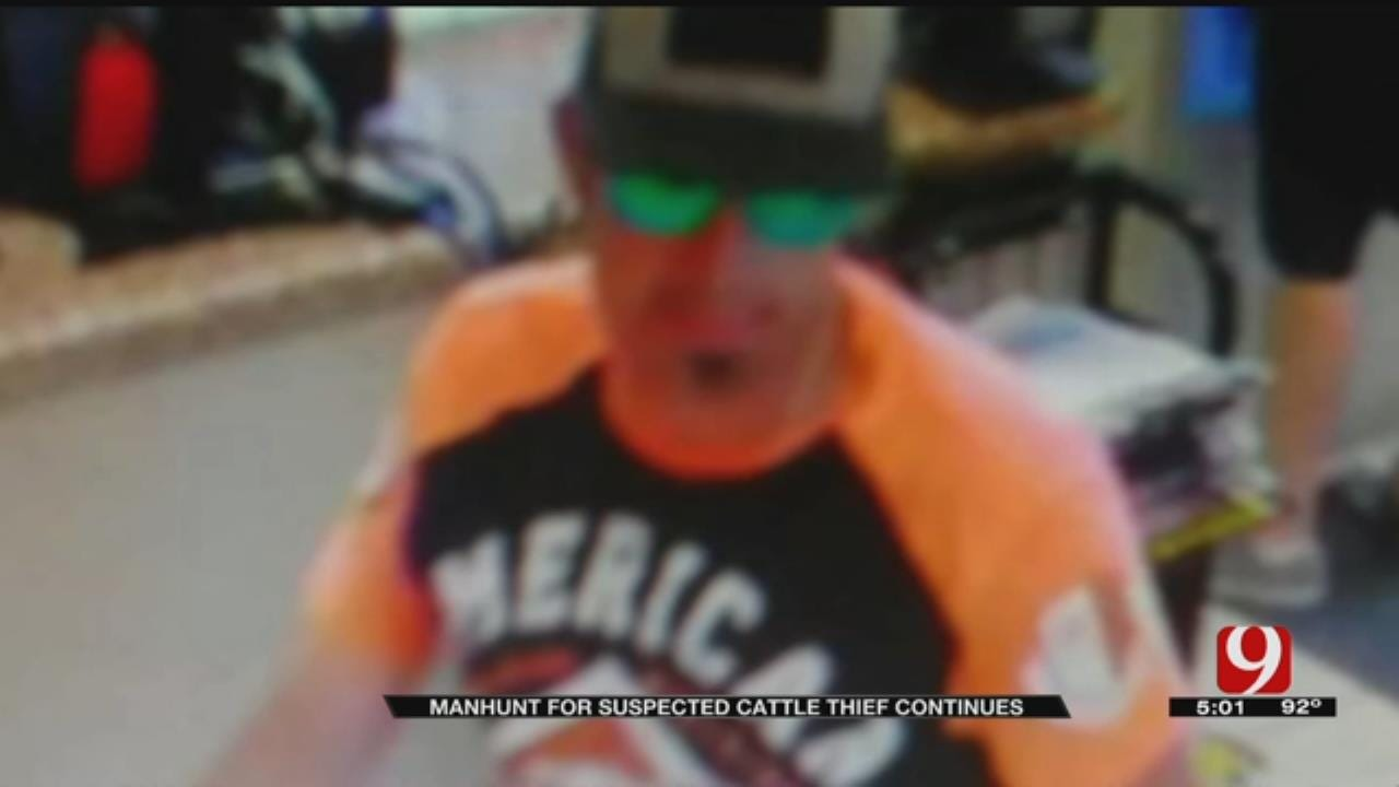 Pottawatomie County Manhunt Continues For Livestock Thief