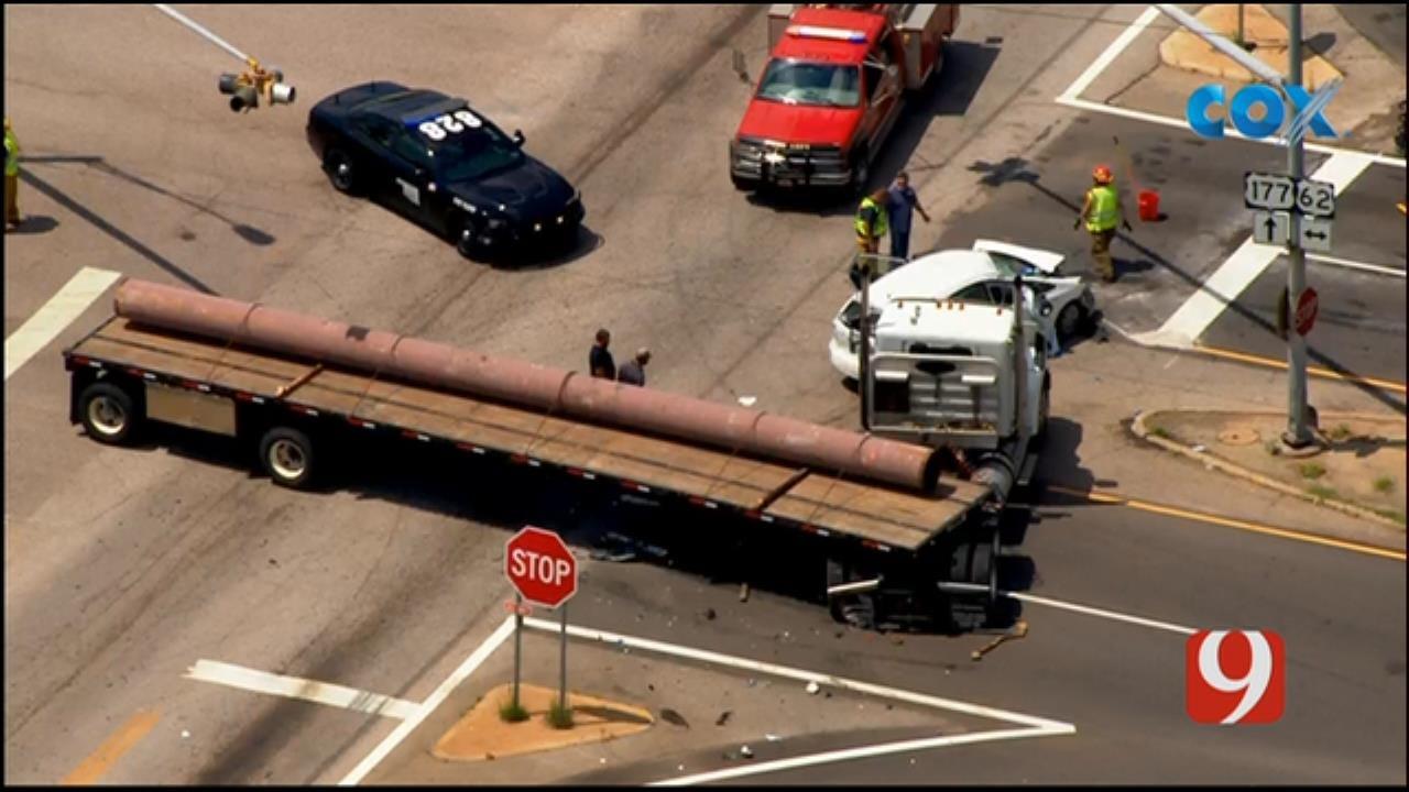WEB EXTRA: Emergency Crews Respond To Head-On Collision Near Meeker