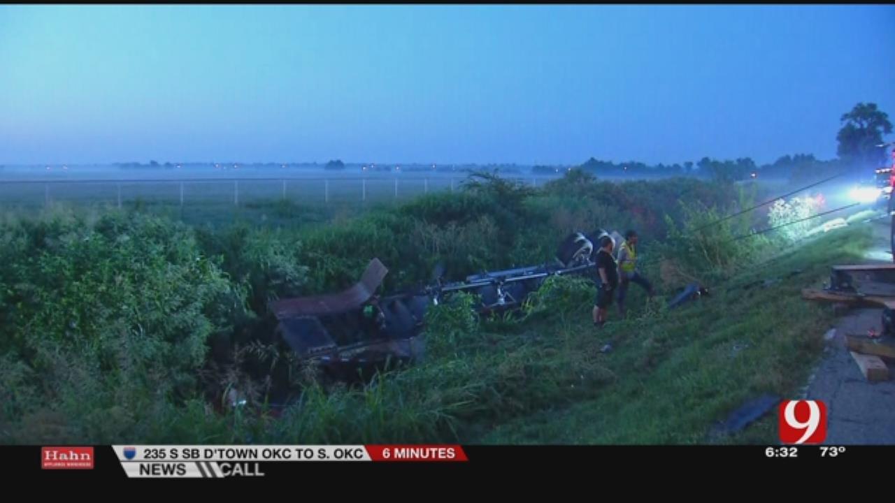 Driver Fatality Confirmed In Semi Wreck Near Yukon
