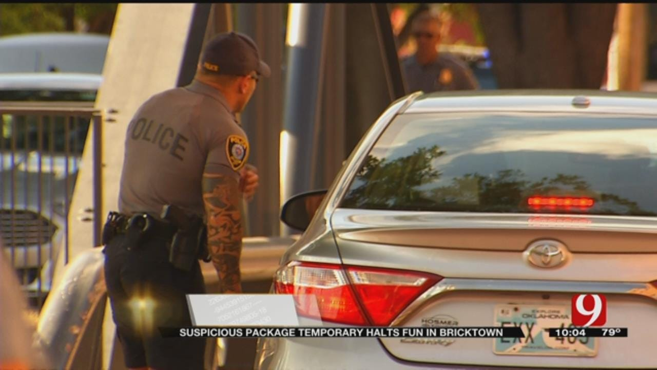 Fourth Of July Festivities Halted By Suspicious Package In Downtown OKC