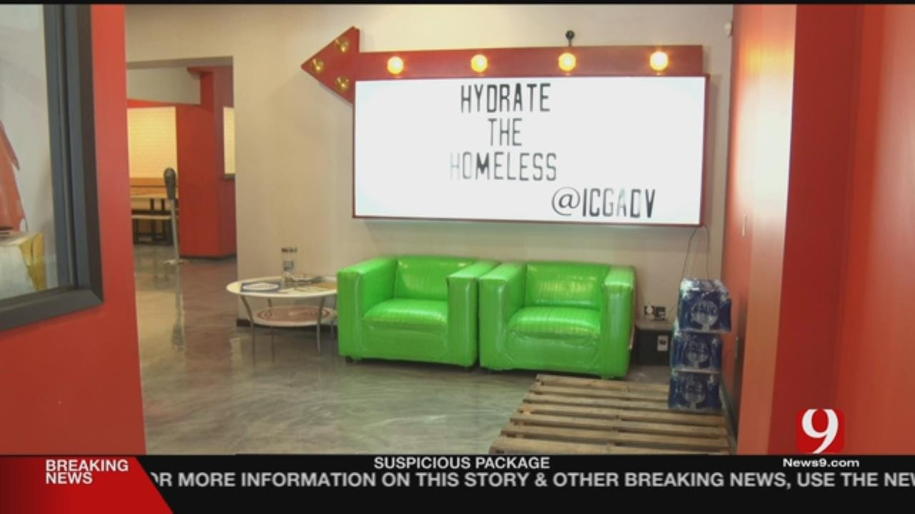 Water Drive Aims To Help Homeless Beat The Heat