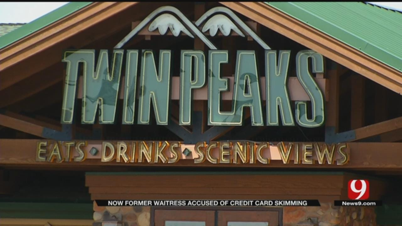 OKC Twin Peaks Waitress Arrested, Accused Of Skimming Credit Cards