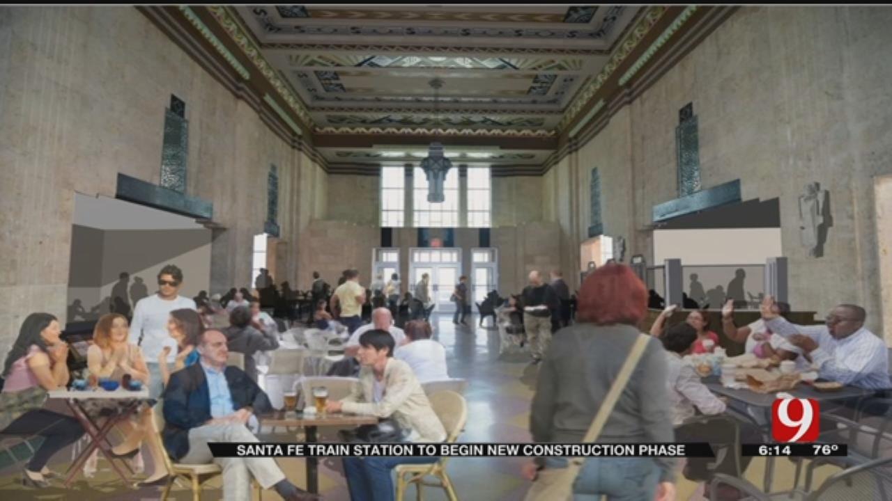 OKC Santa Fe Train Station To Begin New Construction Phase