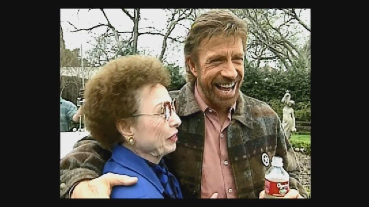 News 9 Flashback (1997): Chuck Norris, Mom Talk About Success