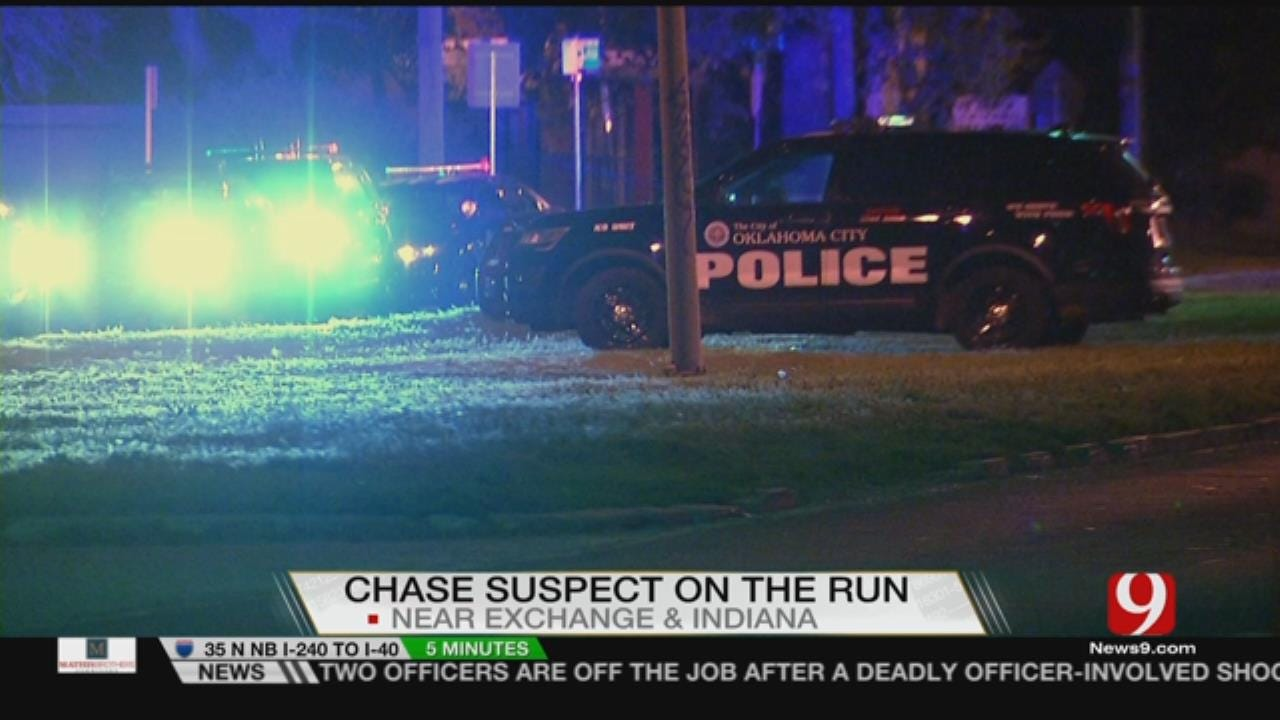 Chase Suspect On The Run