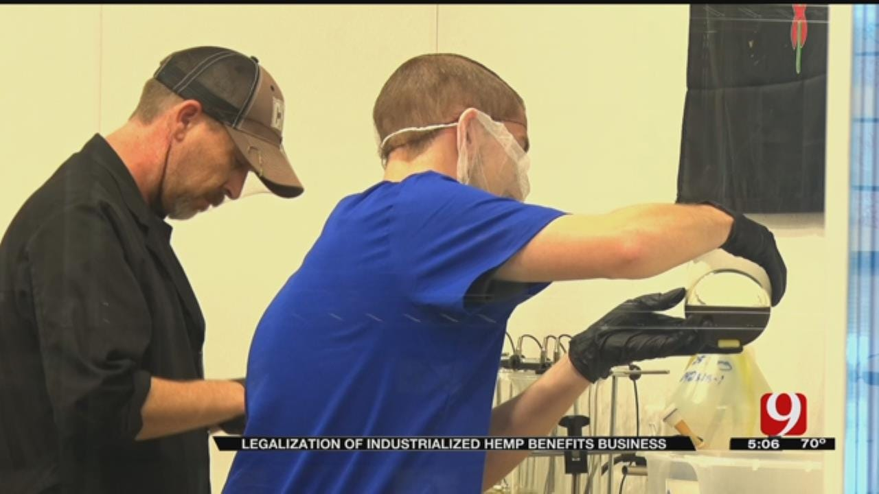 Industrialized Hemp Legalization Helps Oklahoma CBD Manufacturers