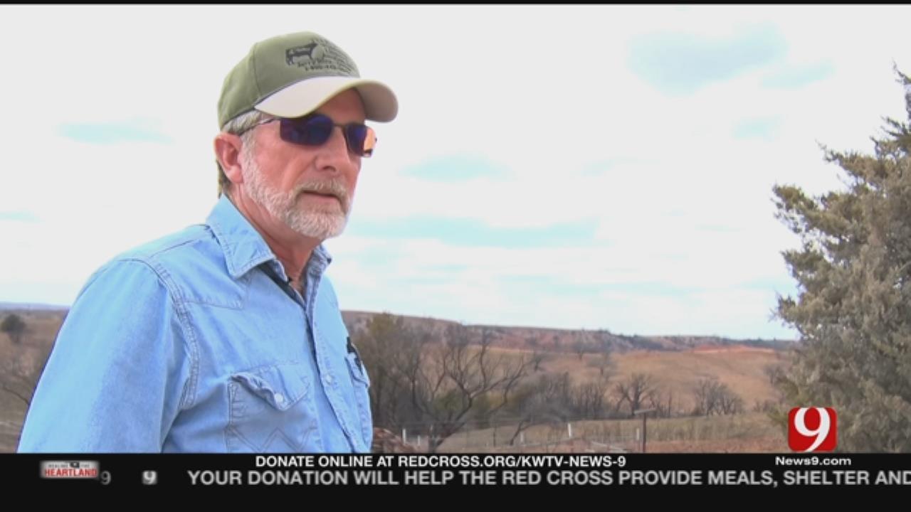 Man Survives Wildfire With Garden Hose