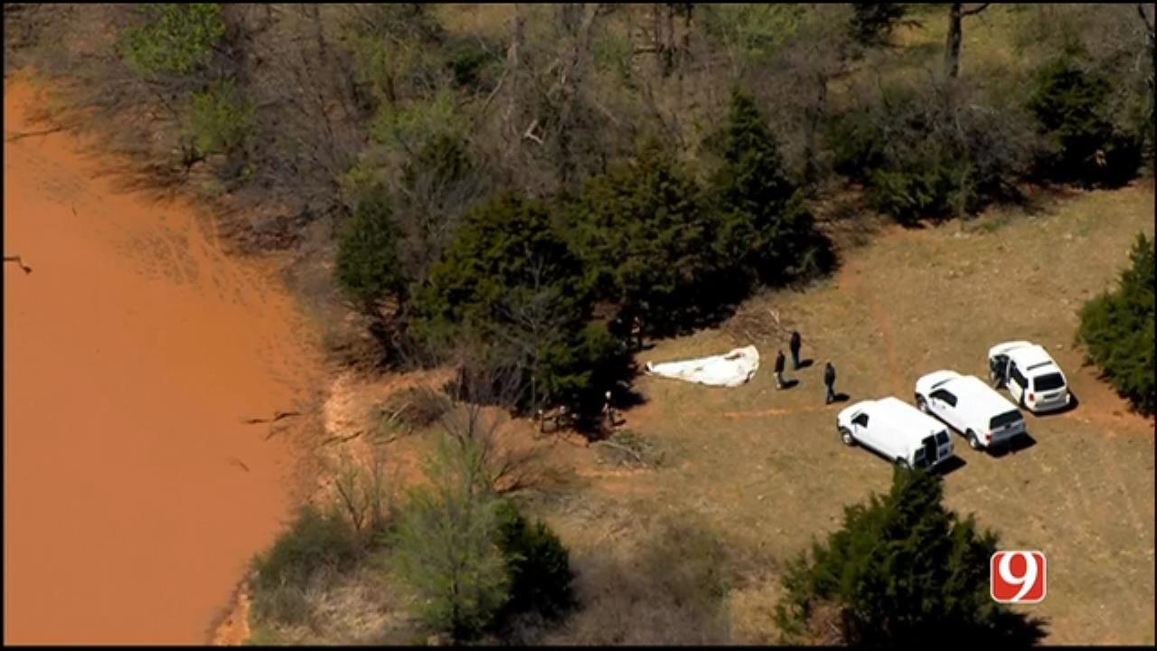 WEB EXTRA: SkyNews 9 Flies Over Murder Investigation In NE OKC
