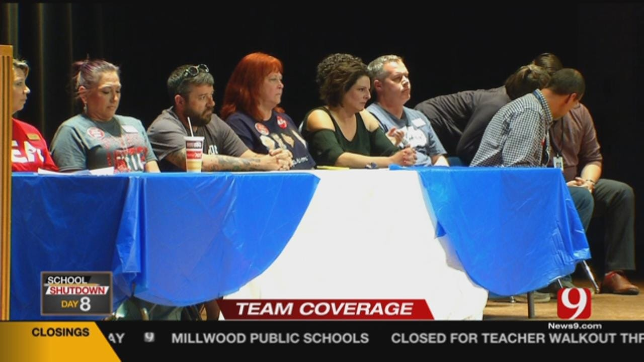 Moore Teachers, Parents Upset About School Resuming