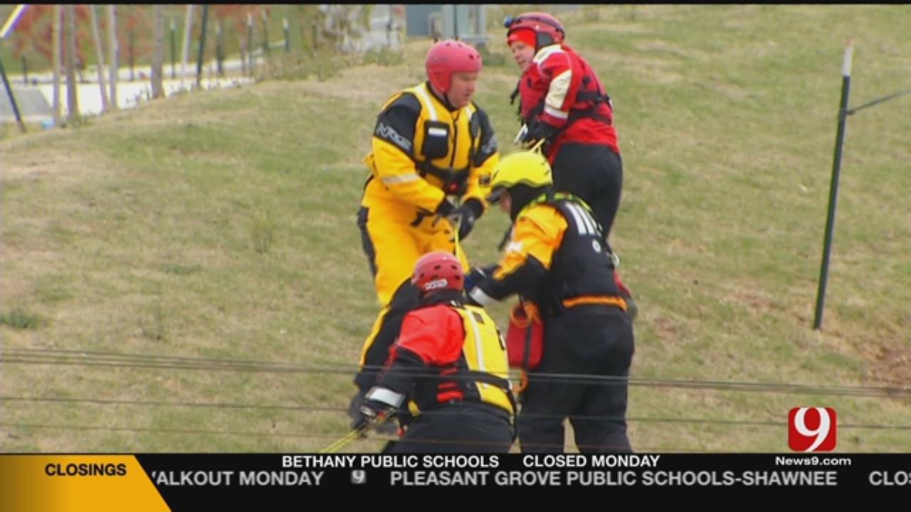 Dozens Of First Responders Train In OKC For Flooding Season