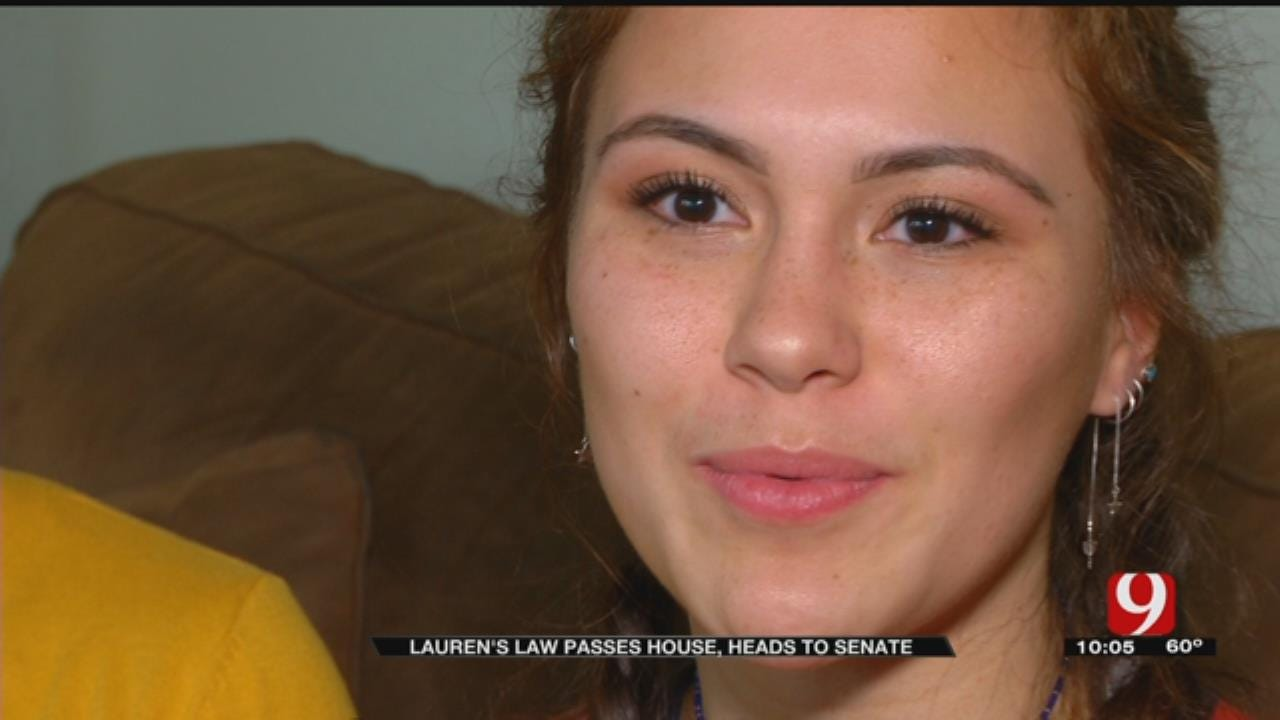 Lauren's Law Passes House; Advocated Education Of Sexual Consent