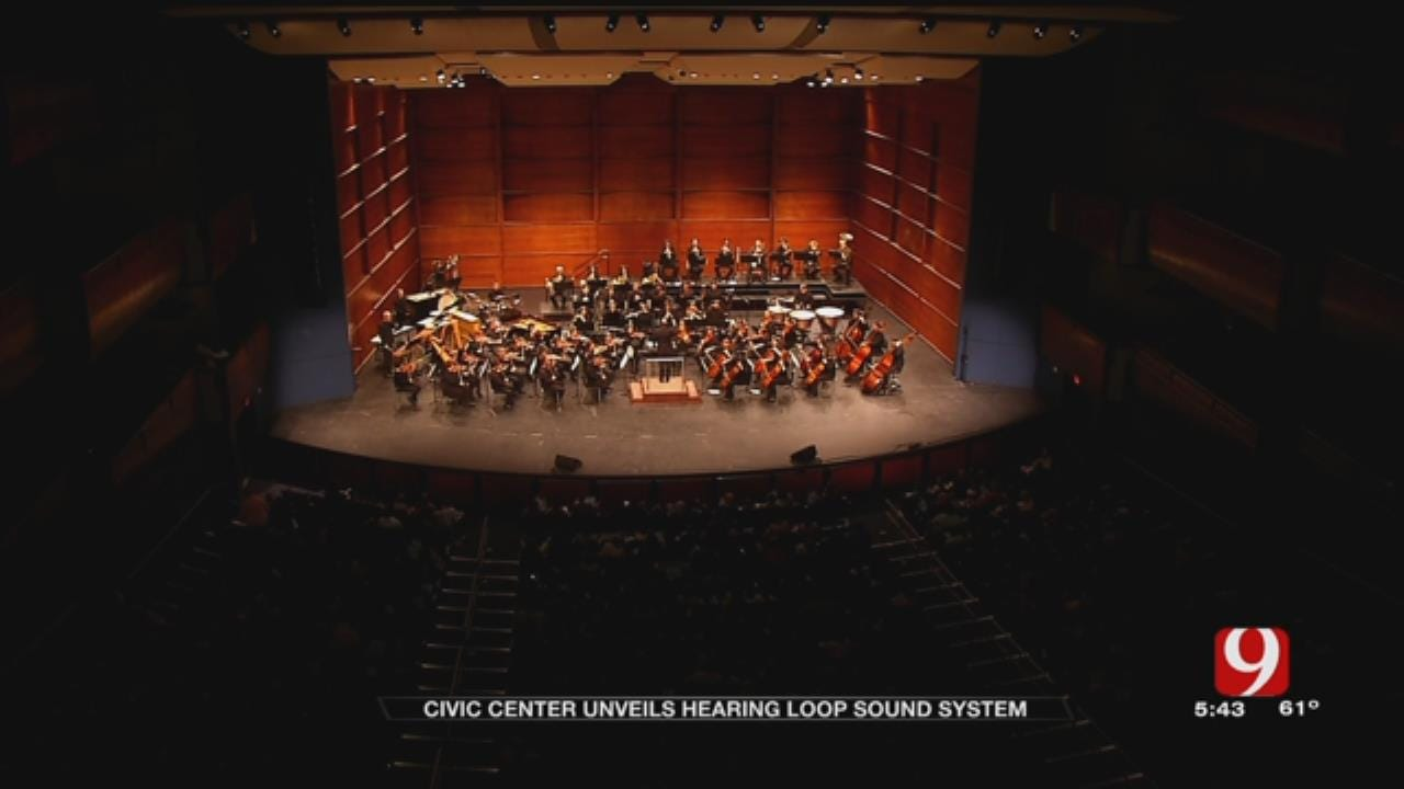 OKC's Civic Center Music Hall Adds 'Hearing Loop