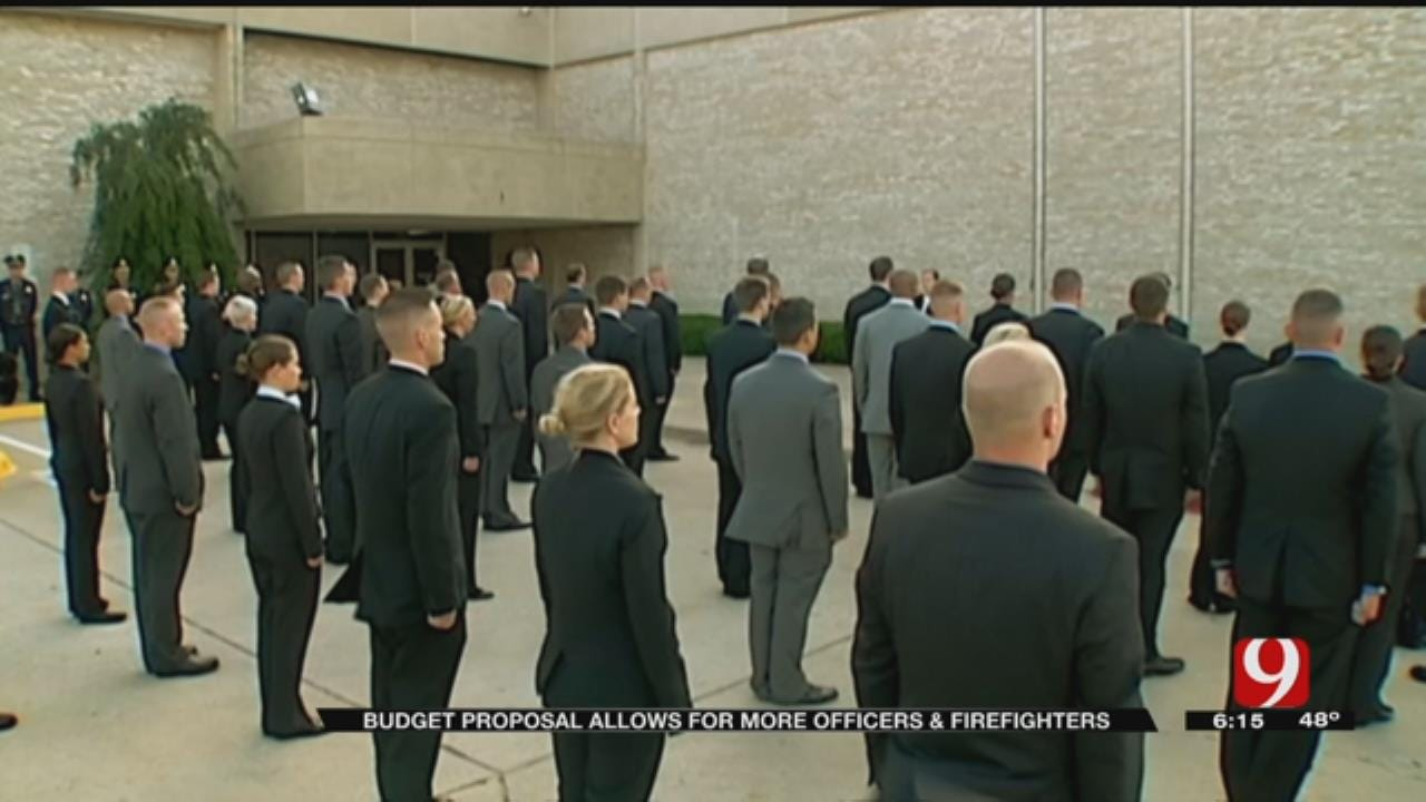 Additional Police Officers, Firefighters To Be Hired In OKC