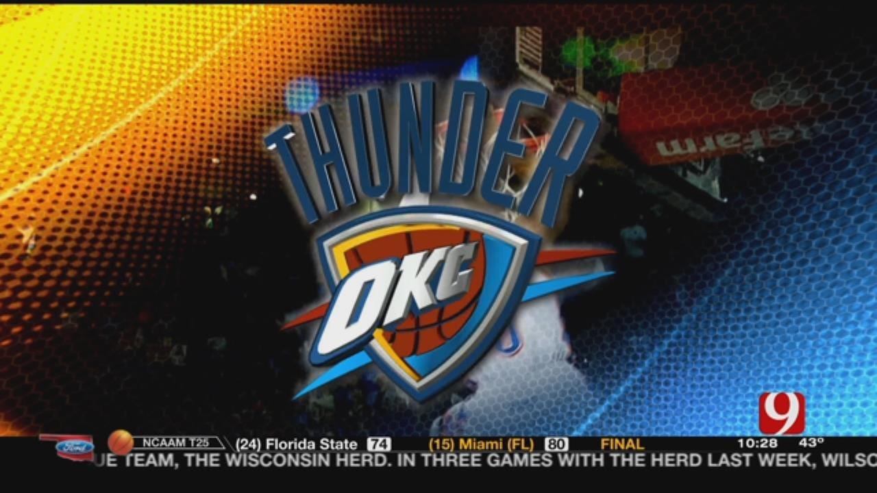 Thunder Three Game Road Trip