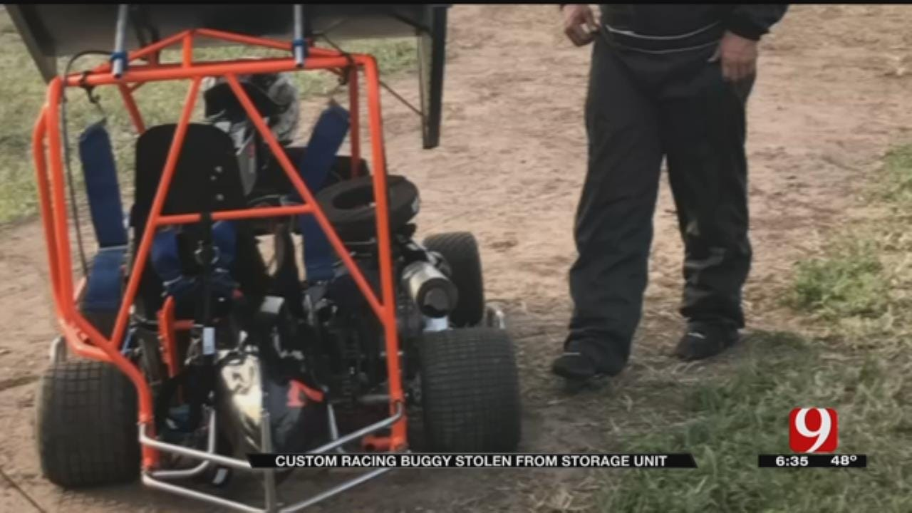 Custom Racing Buggy Stolen From Mustang