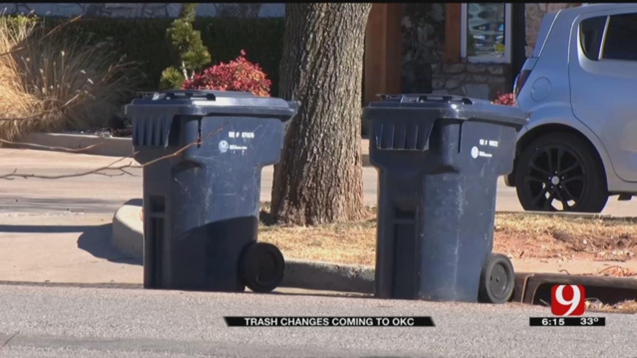 Big Changes Coming For OKC Trash Pickup