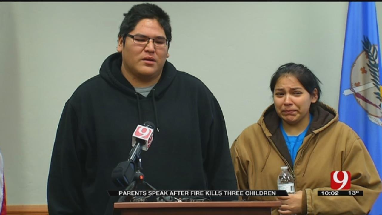 Parents Speak After House Fire Kills 3 Children
