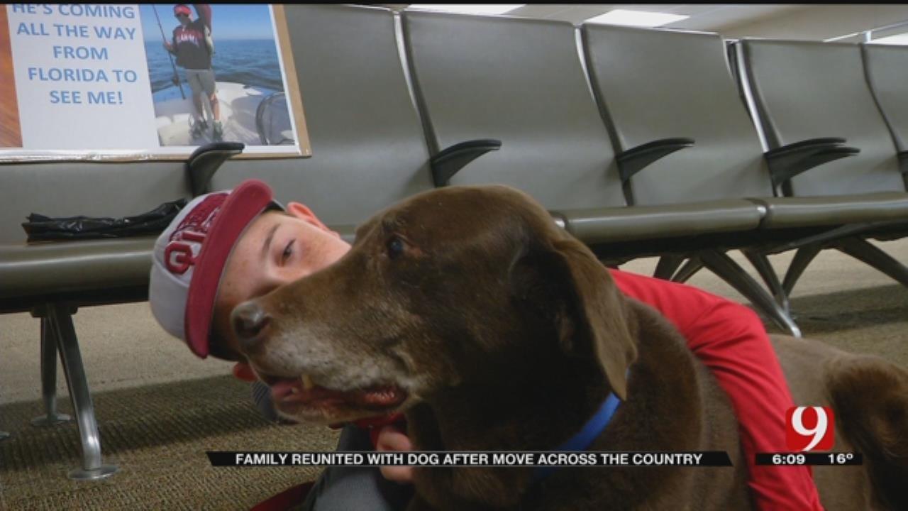 Boy Reunites With Best Friend at OKC Airport