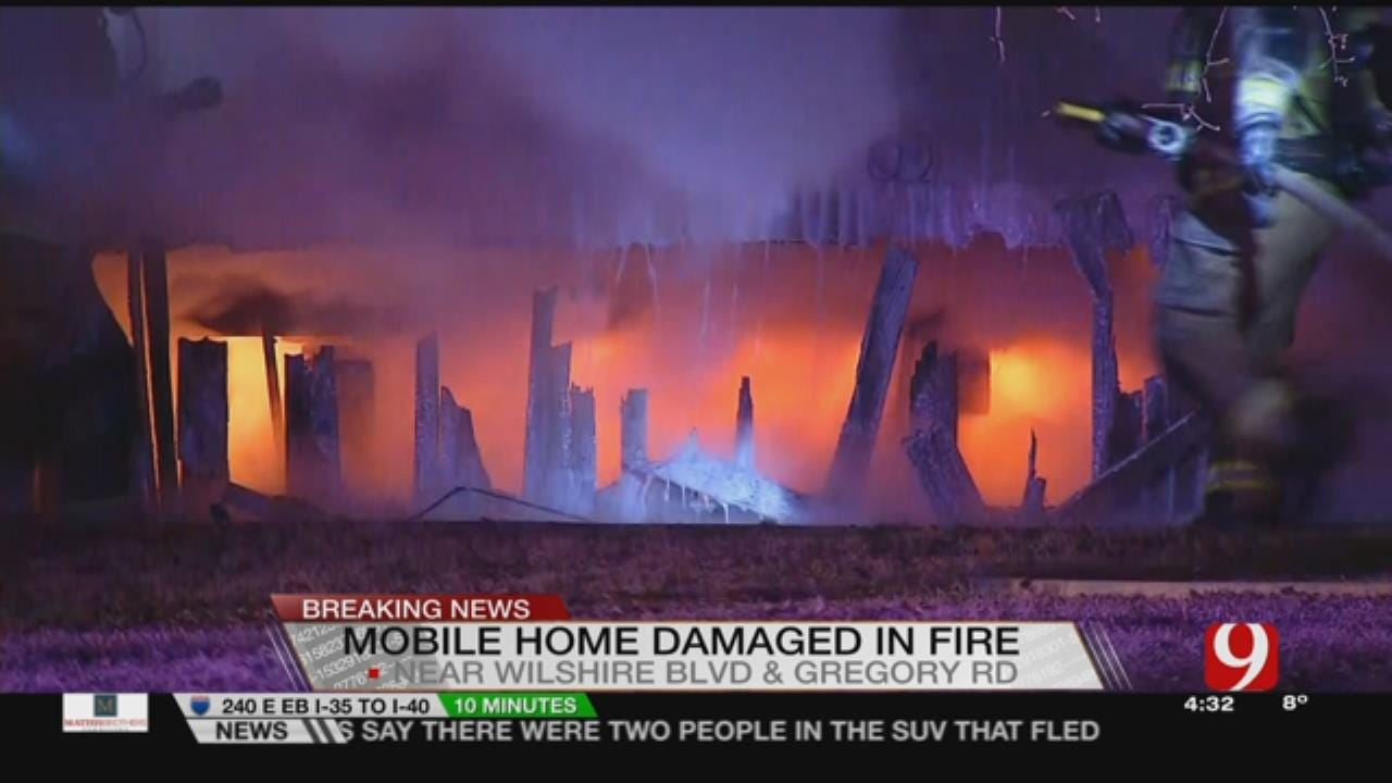 Yukon Mobile Home Fire