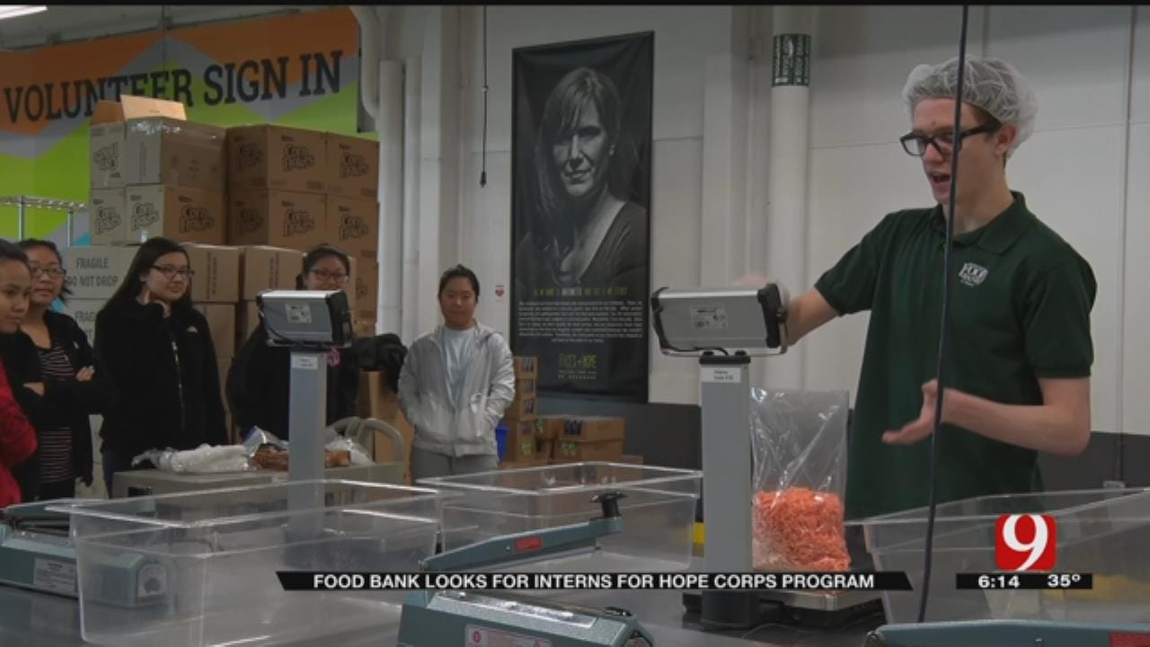 Regional Food Bank Seeking HS Students For Hope Corps Internship