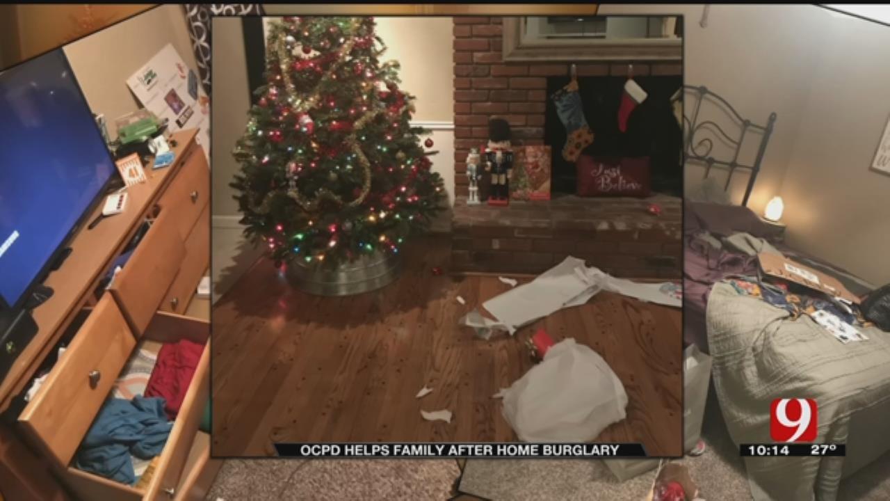 First Responders Help Burglary Victim
