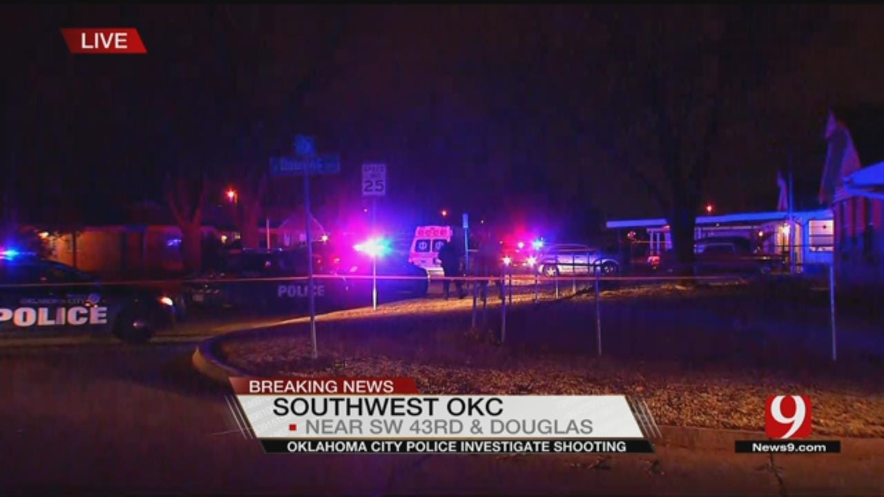 One Hospitalized After Shooting In SW OKC