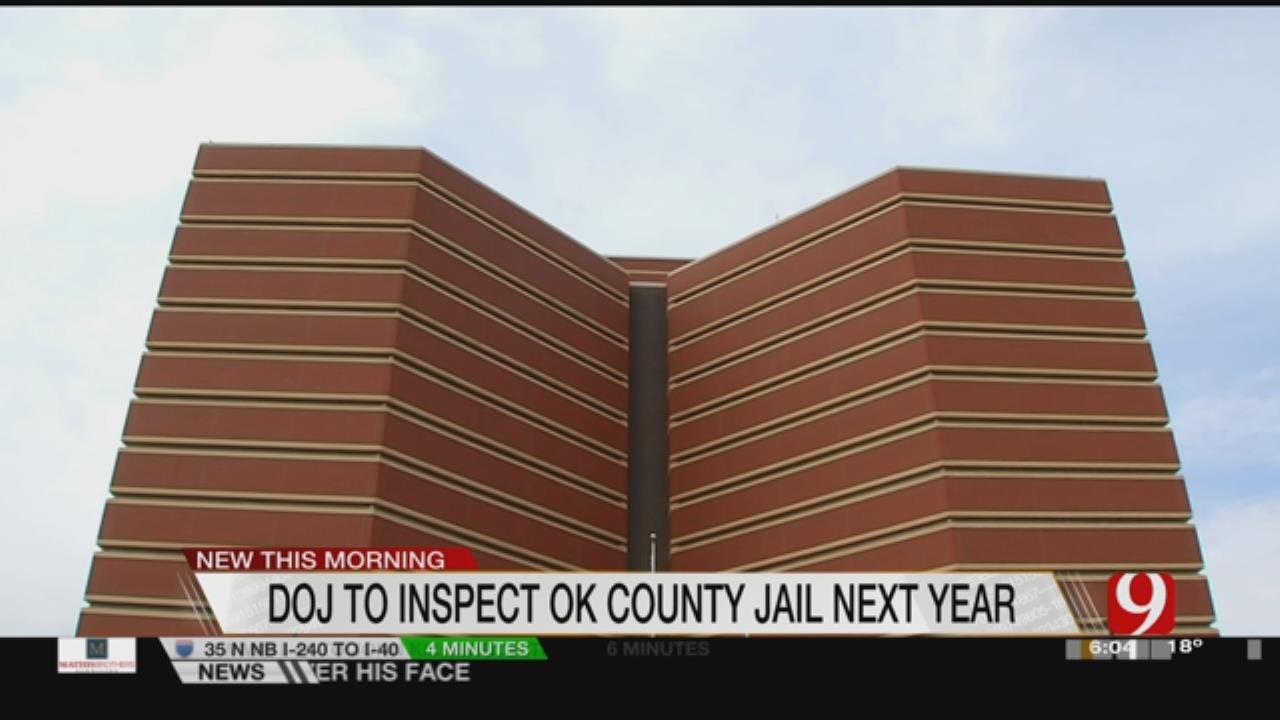 DOJ To Inspect OK County Jail In New Year