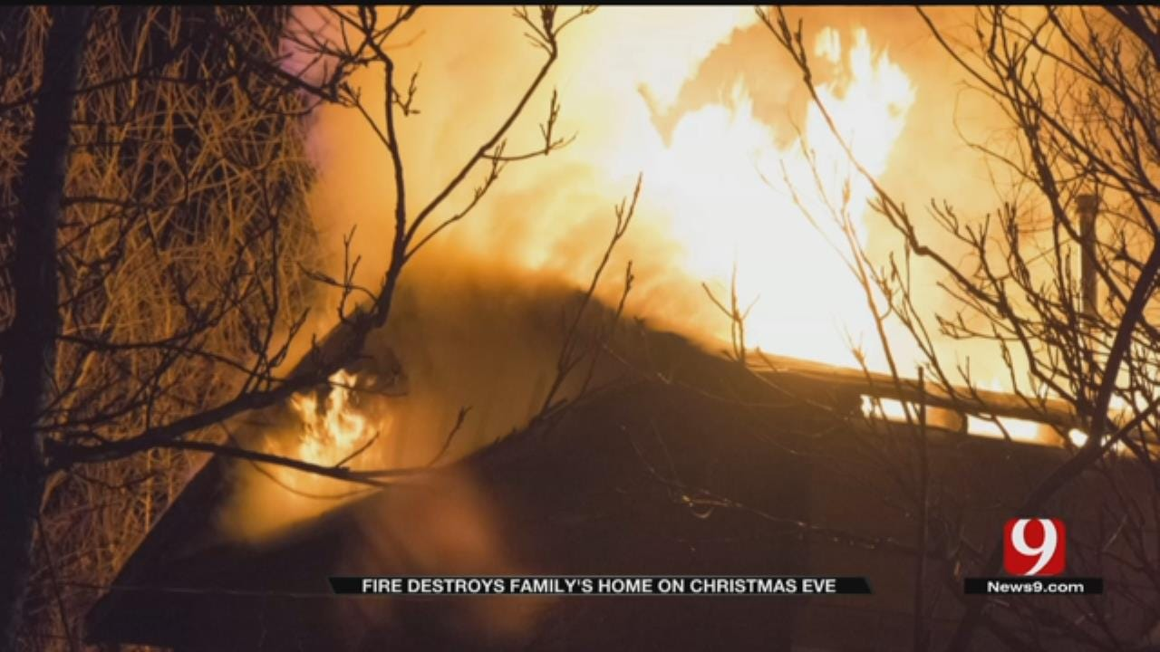 Christmas Eve Fire Leaves Anadarko Family Homeless For The Holidays