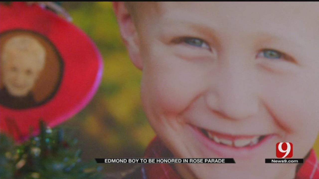 Edmond Boy To Be Honored In Rose Bowl Parade