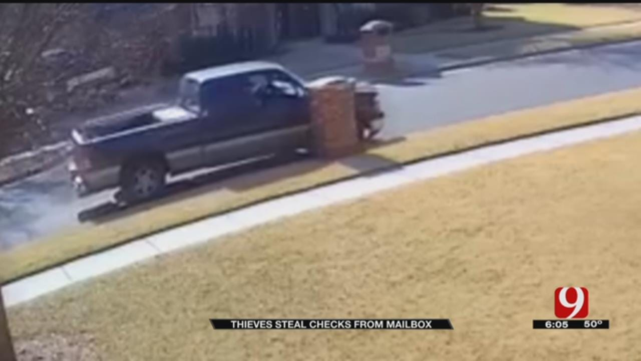 Thieves Steal Checks At Metro Home