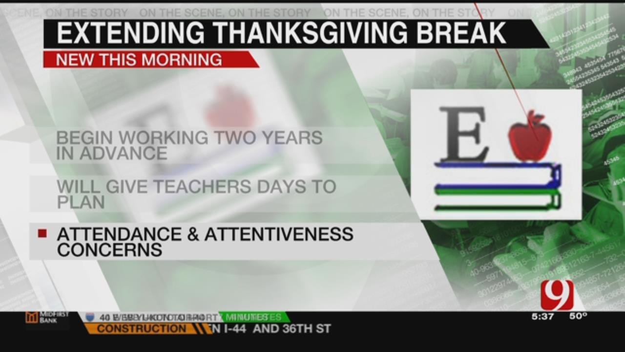 Metro Schools To Extend Thanksgiving Break In 2018