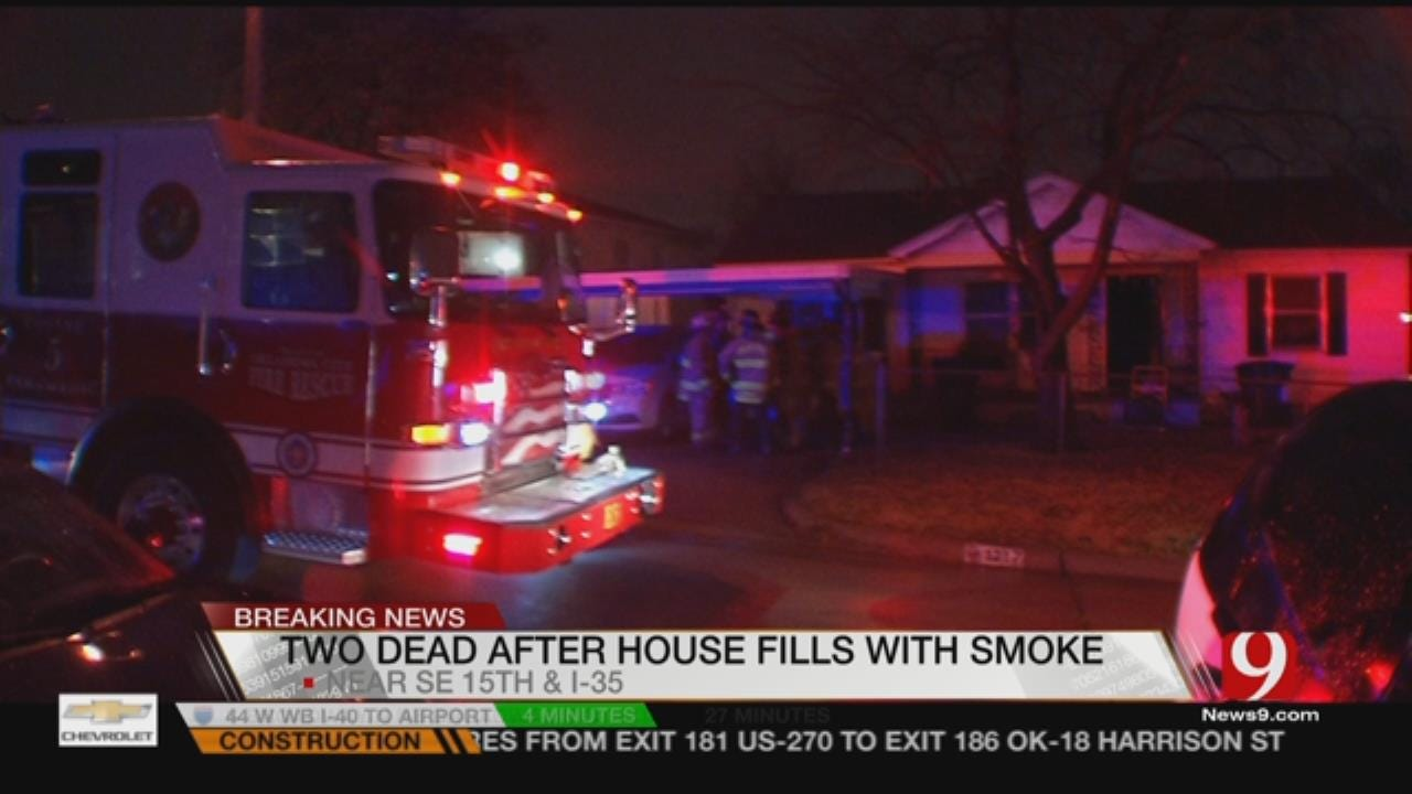 Two Dead After SE OKC House Fire