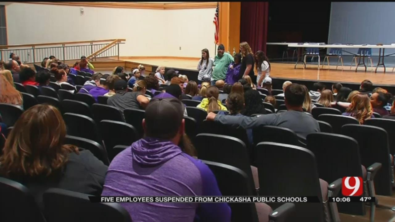 Chickasha Employees Suspended