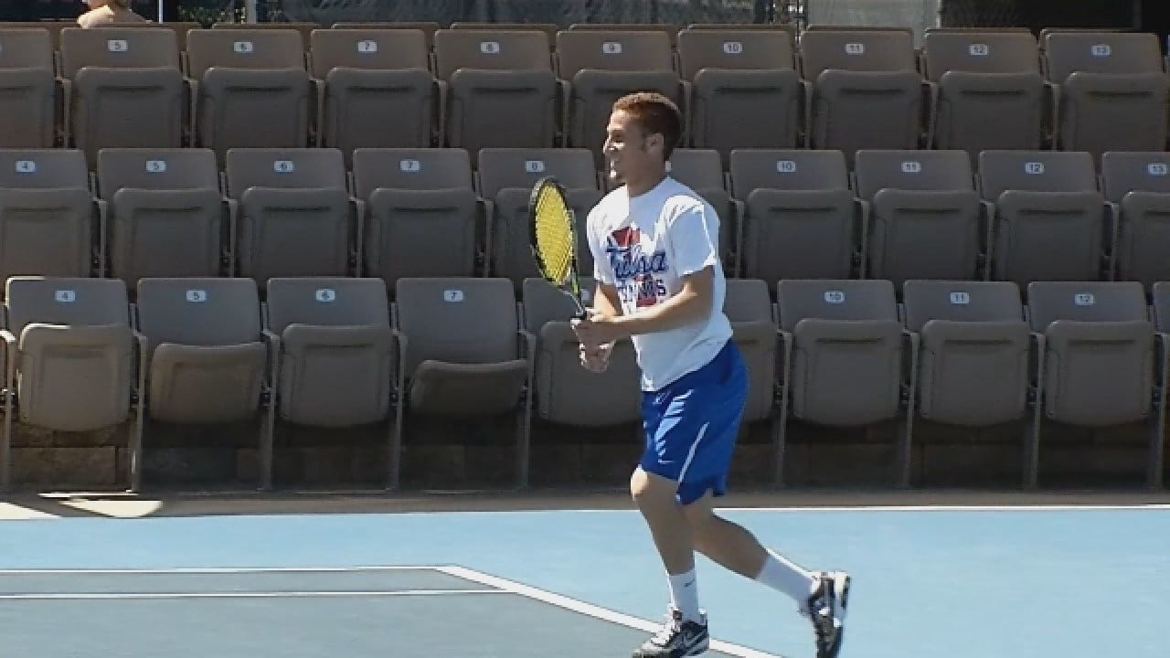 Tulsa Tennis Star Has Challenging Road To Pro Tour