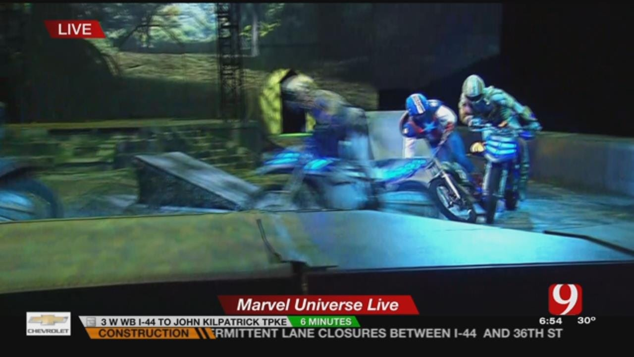Marvel Universe Live's Age Of Heroes Show Runs Until Sunday